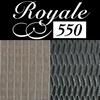 Royale 550 rubber ondertapijt dik 5,5 mm breed 133 cm
