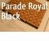 ONDERTAPIJT PARADE ROYAL BLACK dik 5 mm  breed 137 cm