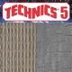 Technics 5 rubber ondertapijt dik 5 mm breed 137 cm