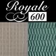 Royale 600 rubber ondertapijt dik 6 mm breed 133 cm